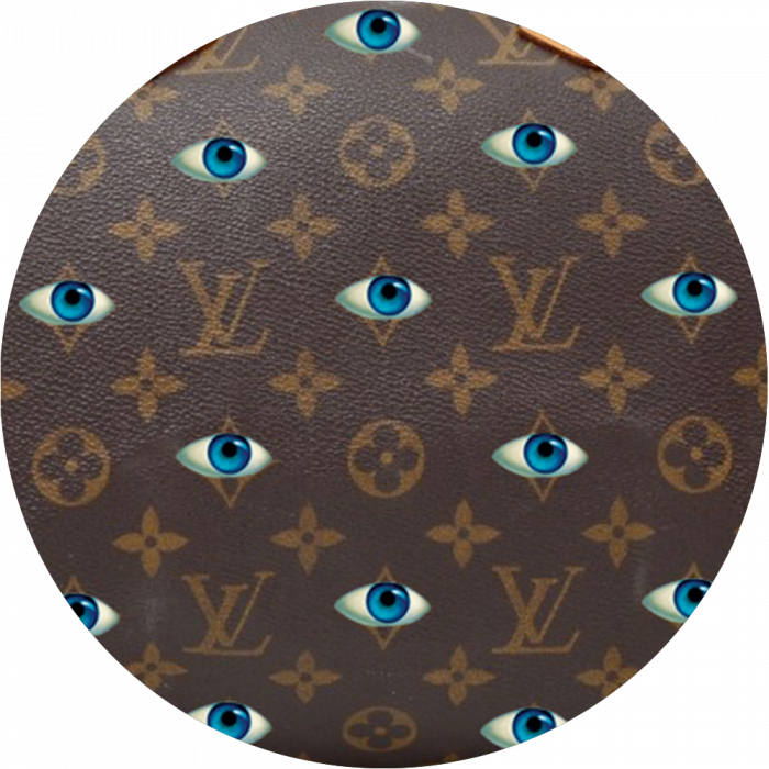 Bag Customisation Evil Eye