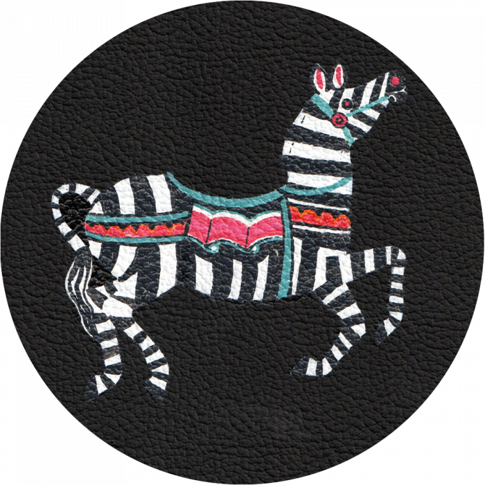 Bag Customisation Circus Zebra