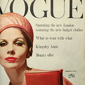 Get the Look: Vintage Vogue, February, 1961.