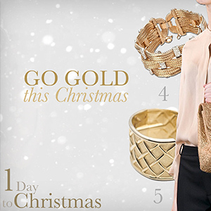 Go Gold this Christmas!