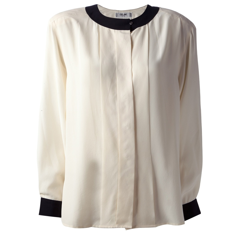 celine silk blouse