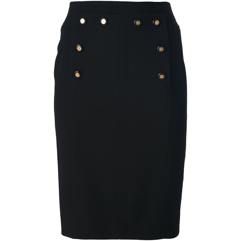 chanel vintage pencil skirt