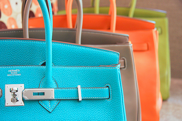 Hermès colours and materials: a closer look