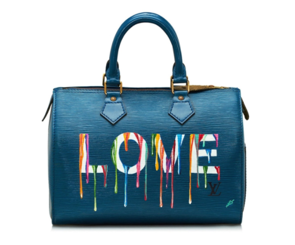 painted emotional baggage louis vuitton