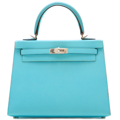 Product Spotlight: Hermès Bleu Atoll Kelly 25