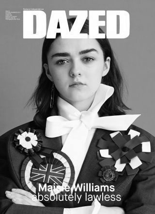Rewind Vintage featured in Dazed and Confused magazine black and white