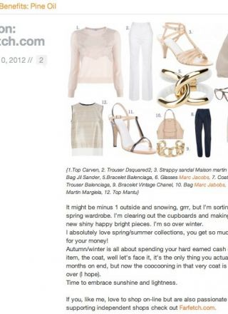 Rewind Vintage featured in Lisa Gusto blog website