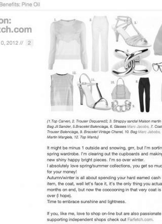 Rewind Vintage featured in Lisa Gusto blog website black and white