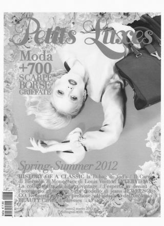 Rewind Vintage featured in Petits Luxes magazine black and white