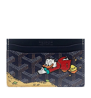 Customised Donald Duck wallet