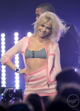 Rewind Vintage worn by Pixie Lott