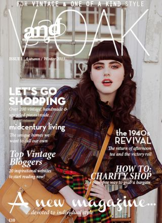 Rewind Vintage featured in V and Oak magazine