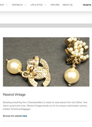 Rewind Vintage featured in Culture Whisperer