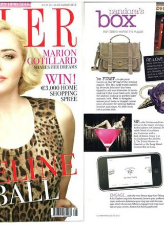 Rewind Vintage featured in Tatler magazine